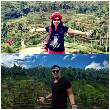 One of the attraction - Tegalalang Rice Terrace and happened to be at the same spot as the world-renowed DJ, Ummet Ozcan